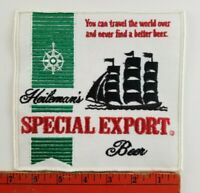 Vintage Heileman's Special Export Beer Sailing Ship Large 7X7 inch Patch