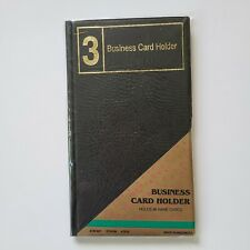 Business Card Holder Book Holds 96 Cards