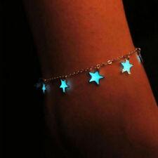 Luminous stars Glowing in dark Sandal Beach Anklet Foot Chain Bracelet new