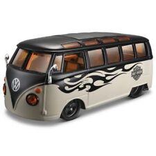 Autobús de automodelismo y aeromodelismo de plástico de color principal negro