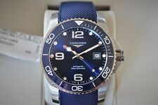 NEW!! Longines HydroConquest Automatic 41mm Blue Dial Divers Watch L3.781.4.96.9