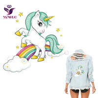 Unicorn Sticker for Clothes Patches A-level Washable Printed Clothing Iron on