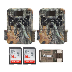 Browning Strike Force Extreme Game Camera (2) with 16GB Card (2) and Reader