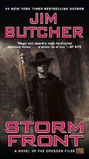 Dresden Files #1: Storm Front by Jim Butcher (2000, Mass Market Paperback)