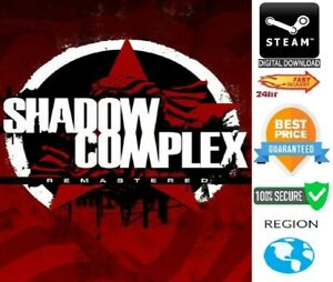 Shadow Complex Remastered PC Steam **FAST DELIVERY**