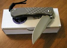 CHRIS REEVE New Left Hand Titanium Handle Umnumzaan S35VN Blade Knife/Knives