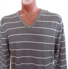 NWT Calvin Klein Jeans V-Neck Pullover Gray Heather Size XL