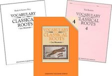 Vocabulary from Classical Roots Grade 4 SET -- Student, Key & Test NEW