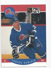 Lucien Deblois Nordiques 1990-1991 Pro Set #244