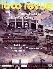 LOCO REVUE 462 DE 1984. TEST Z2 JOUEF, LES Z2 SUR LE TERRAIN
