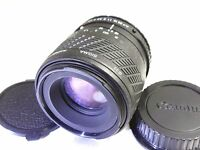 Sigma 90mm macro manual focus lens adapted to Canon EOS EF (1:2 magnification)