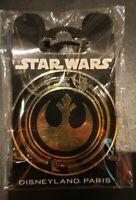 PIN Disneyland Paris STAR WARS LOGO REBEL OE