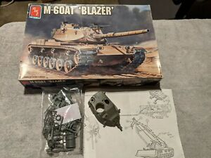 Lot 477 - M-60 with M728 Resin with upgrades- 1/35 Scale - AMT
