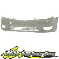 FRONT BAR COVER SILVER SUIT TOYOTA CAMRY CV36 04-06 SERIES 2 BUMPER