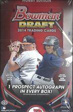 2014 Bowman Draft Factory Sealed Baseball Hobby Box  Kyle Schwarber  AUTO ?