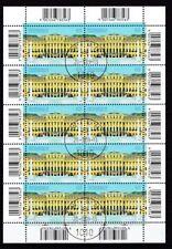 Echte gestempelte Briefmarken mit Bauwerks österreichische