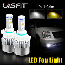 LASFIT 5202 LED Fog Light for Chevrolet Tahoe 2007-2014 Yellow White Dual Color
