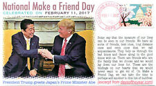 """COVERSCAPE computer designed 2017 """"National Make a Friend Day"""" event cover"""