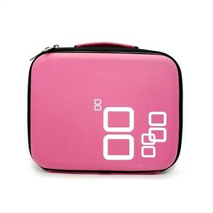 Nintendo DS Video Game Hard Shell Travel Carrying Case Hot Pink H5