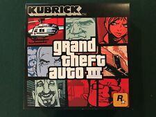 Kubrick Grand Theft Auto Iii 5 Figures Medicom Toy Corp Factory-Sealed Mib