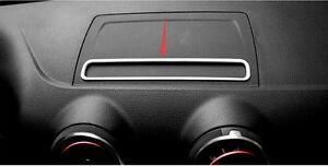For Audi A3 8V Interior Dashboard GPS Navigation Decoration Trim 1pcs 2012-2018