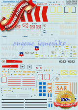 "Print Scale 72-218 "" Wet Decal for AS-332 Super Puma AS-532 Cougar "" Decals 1/72"