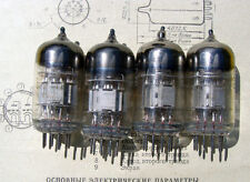 10pcs 6N2P-EV ( 12AX7 ECC83 ) - Russian Dual Triode Tubes NOS ussr tube