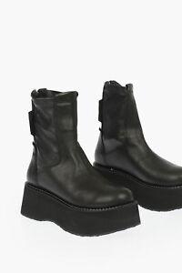 CINZIA ARAIA women Boots SUKIE Platform Lather Rubber Sole Zip Black 39 (Shoe...