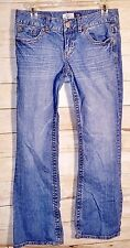 "A'EROPOSTALE Vintage JEANS Juniors Short Skinny Flair Low Waist ""Hailey"" 5/6"