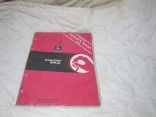 OMA34197 JOHN DEERE 111 DISK OWNERS OPERATORS MANUAL NEW DEALER COPY