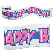 Fr Birthday Crepe Streamer