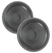 """Pair Eminence Legend 1218 12"""" Guitar Speaker 8ohm 150W 98.8dB 2""""VC Replacement"""