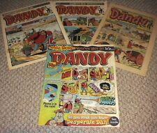 4 Dandy Comics - 1 1985 and 3 1998