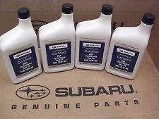 Genuine OEM Subaru 75W-90 Gear Oil - 4 Quarts (Bottles) (SOA427V1700)