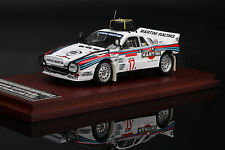 Wood Base -- Lancia 037 Rally #17 1984 Safari Rally - HPI #8587 1/43