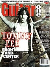 Guitar One Magazine July 2002 TOMMY LEE