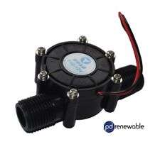 Hydro Electric Water Flow Power Generator Turbine for DIY DC12V 10W UK