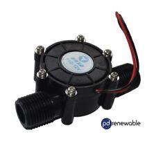 Generador de energía eléctrica de flujo de agua hidro turbina para hágalo usted mismo DC12V 10 W Reino Unido