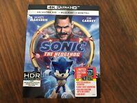 Sonic The Hedgehog (4K Ultra HD/Blu-ray, 2020, Includes Mini Book & Slipcover)