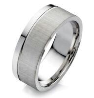 1 Designer Edelstahlring Männering Damenring mit Ring Gravur Gratis HD100