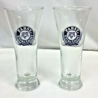 Pabst Extra Light Milwaukee Wisconsin beer glass bar glasses 2 glassware IG2