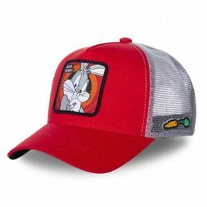 Baseball Cap Hip-Hop Cartoon Anime Duck Snapback Cotton Cap Dad Mesh Hat Trucker