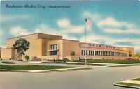 Rochester New York~Radio City~Humboldt Street~WHAM~WHFM~1940s Art Deco