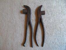 Vintage Leather Working Tools Lasting Pliers