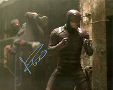 CHARLIE COX GENUINE AUTHENTIC SIGNED DAREDEVIL 10X8 PHOTO AFTAL [12406] PROOF