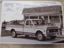 1971 CHEVROLET CHEYENNE PICKUP   11 X 17  PHOTO /  PICTURE