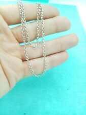 "Tiffany & Co. Silver Strong Thick 2.7mm chain 24"" Necklace, UK ASSAY Hallmark!"