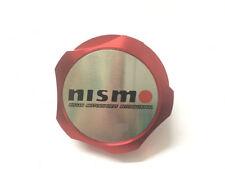1Pcs Car Luxury Red Nismo Racing Oil Filler Cap Fuel Tank Cover Aluminum