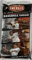 New Emerald San Francisco SF Giants Baseball Cards SGA Stadium Giveaway 2012