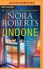 Night Tales: Undone : Night Shield, Night Moves by Nora Roberts (2016, MP3...